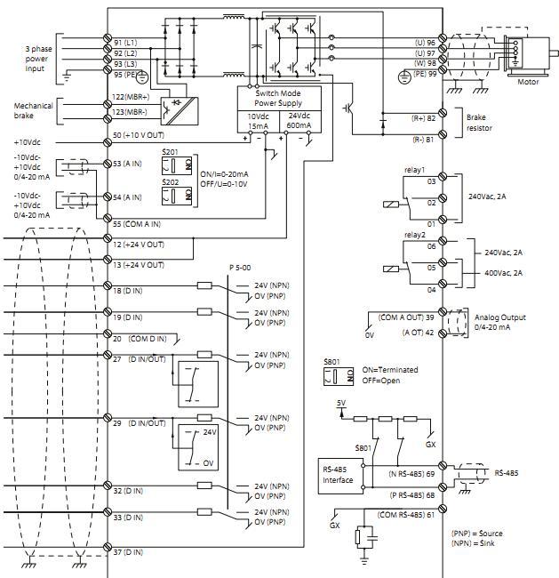 Vlt Aqua Drive Fc 200 programming Guide book Pdf Danfoss Vlt Wiring Diagram on