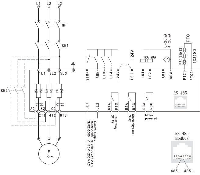 softstarty sanyu schemat aplikacyjny